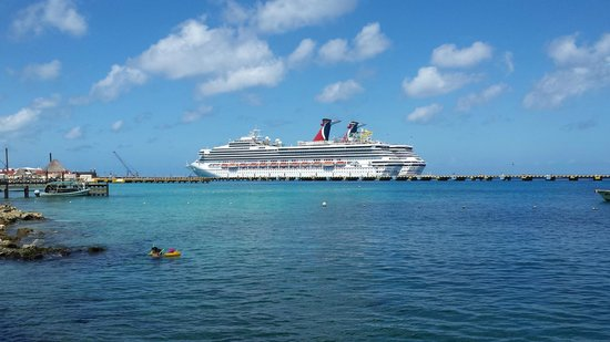Grand Park Royal Luxury Resort Cozumel : Vista Magnifica de Cruceros