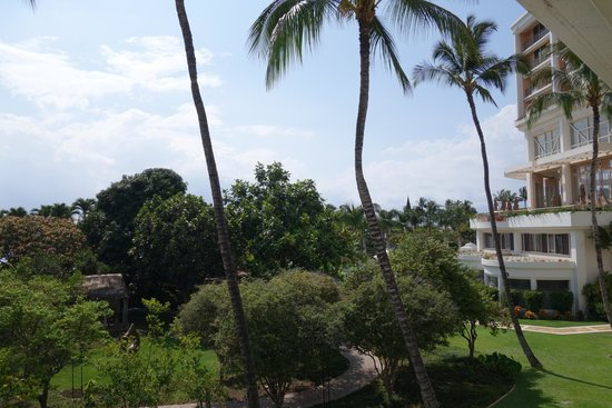 Grand Wailea - A Waldorf Astoria Resort : View from our lanai