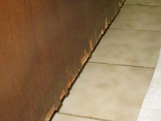 Hotel Piave: porta casa de banho