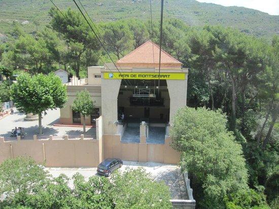 Aeri de Montserrat: Zona de partida