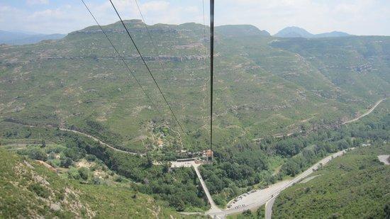 Aeri de Montserrat: Vistas desde cabina