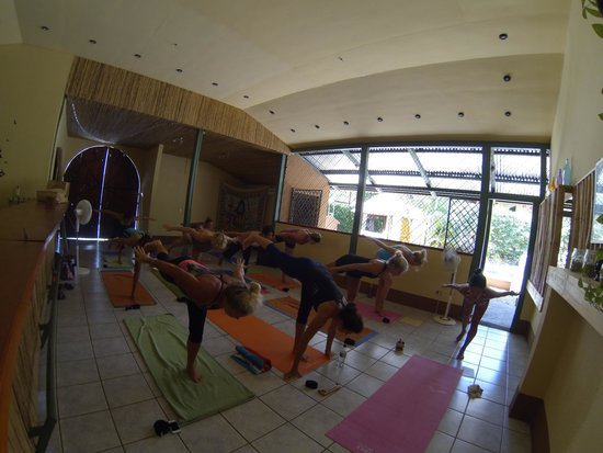 Indra Inn : Morning yoga