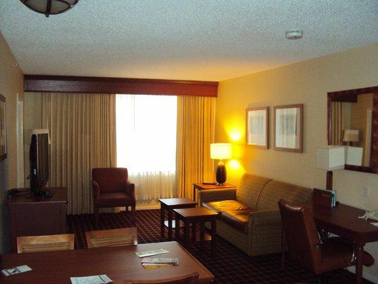 Homewood Suites by Hilton San Antonio - Riverwalk / Downtown: Living Room in Room 900