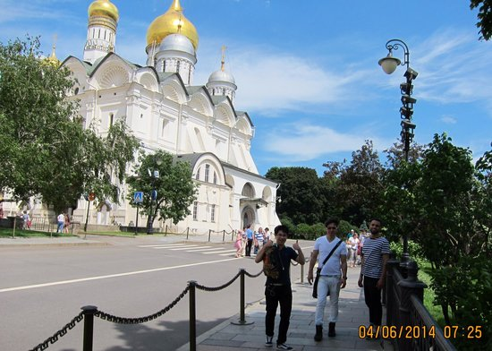 Cathedral of the Archangel (Arkhangelsky Sobor) : Linda!!!