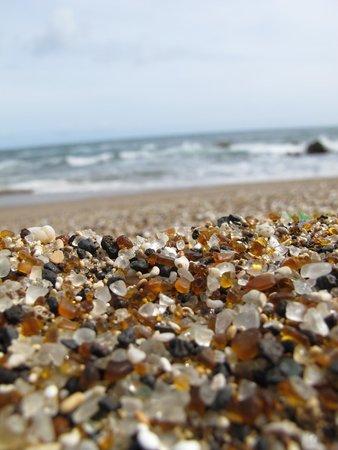 Glass Beach: Beautiful glass