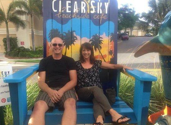 Clear Sky Cafe: Clear Sky Beachside Cafe Sascha & Monique Florida Luxury Realty 727 871 9800