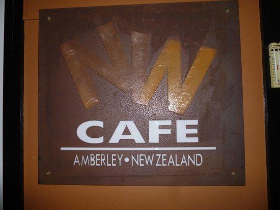 Nor'Wester Cafe: Entrance Sign