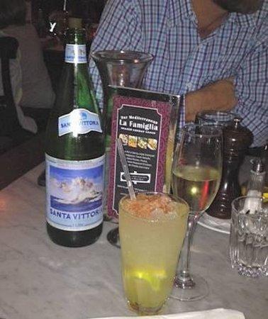 Osteria del Toro: drinks before dinner