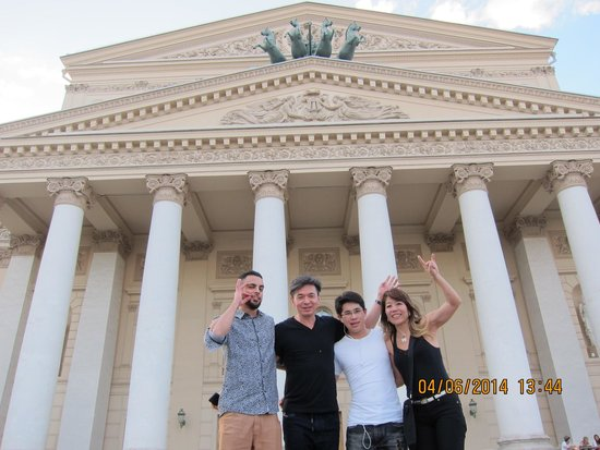 Teatro Bolscioi: Lindo e suntuoso