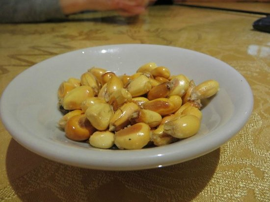 Via la encantada: giant corn kernels
