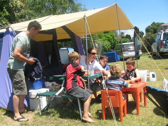 ‪‪Timaru TOP 10 Holiday Park‬: Tent site‬