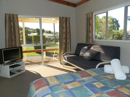 Timaru TOP 10 Holiday Park: Self contained studio unit