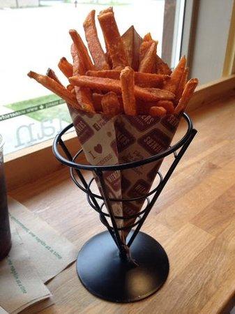 Wieners of Waterton: Sweet potato fries