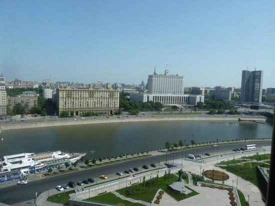Radisson Royal Hotel Moscow : Great views