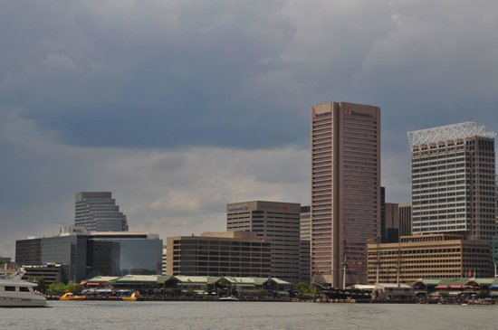 Baltimore Water Taxi: Inner Harbor from water taxi