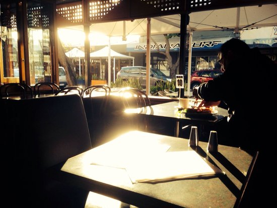 Cafe bean: Dining view