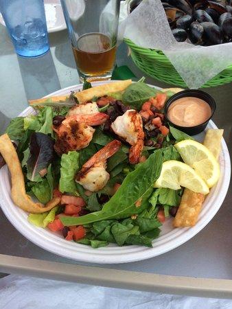 Naked Turtle Holding Co: Excellent shrimp chipotle salad.