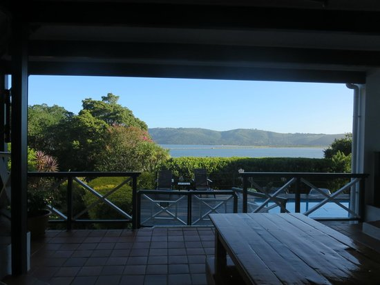 Hide Away Guest House : View from breakfast table and front door