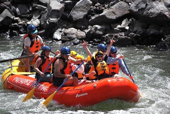 เพรย์, มอนแทนา: A young Guest rockin' the river.