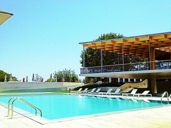 Ozadi Tavira Hotel: Piscina