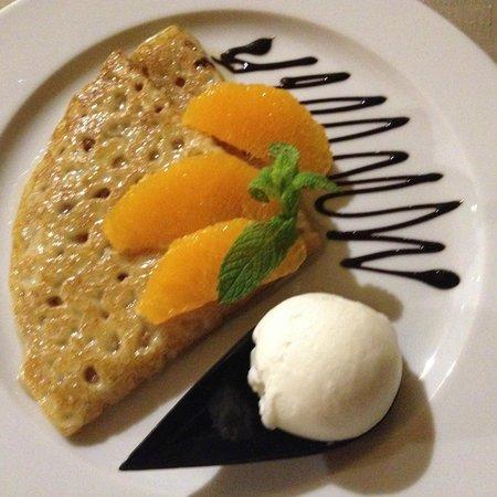 Ozadi Tavira Hotel: Sobremesa