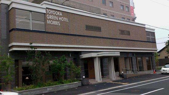 Toyooka Green Hotel Morris : 外観