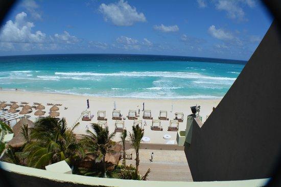 Paradisus Cancun: from balcony