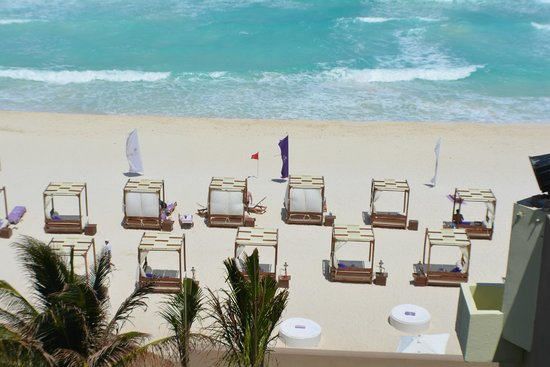 Paradisus Cancun: from balcony