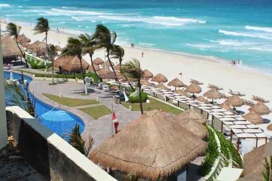 Paradisus Cancun: more balcony view
