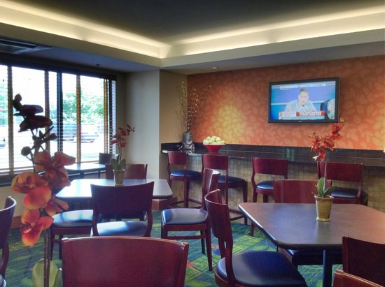 Fairfield Inn Corning Riverside : Breakfast area