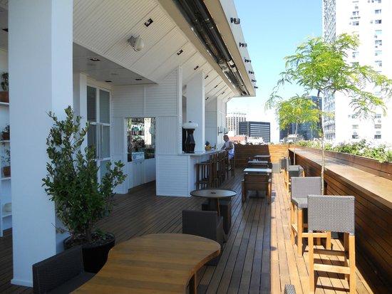 Hotel Pulitzer Buenos Aires: Bar no terraço/cobertura