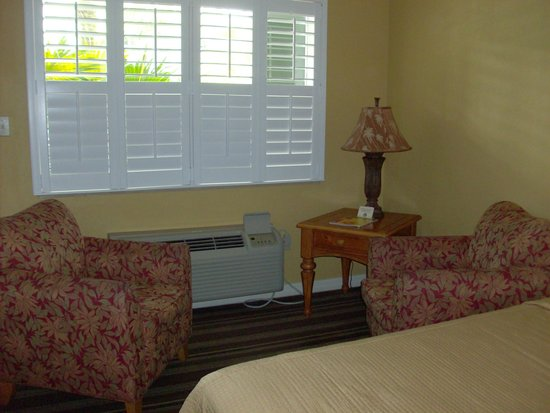 Best Western Hibiscus Motel : Sitting Area