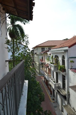 Las Clementinas Hotel: View from one of the many balconies off chamber 6