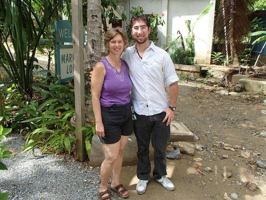 Mariposa Lodge: Susan and me