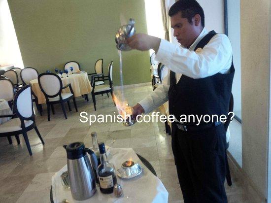 Occidental Nuevo Vallarta: Spanish coffee at Los Olivos