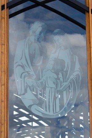 Holy Family Shrine: The Holy Family Etching