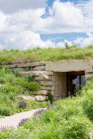 Holy Family Shrine: The Tomb Like Entrance