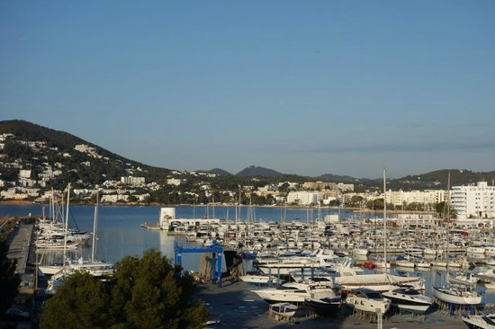 Aguas de Ibiza: View from the Room - Santa Eularia & Marina