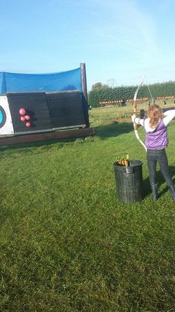 Abbeyfield Farm Country Pursuits : ballons