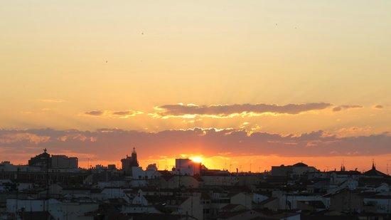 Hostal Besaya: Sunrise from the balcony