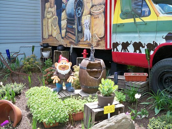 Mister Ed's Elephant Museum: Yard near store
