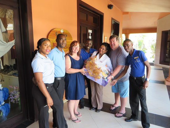 Secrets Wild Orchid Montego Bay: I won the raffle from the boutique