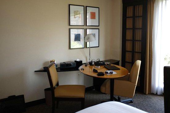 Sheraton Miyako Hotel Tokyo: A bit small working area