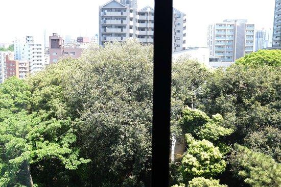 Sheraton Miyako Hotel Tokyo: Big panorama view