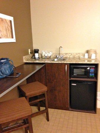 Microtel Inn & Suites by Wyndham Triadelphia/wheeling: Kitchenette