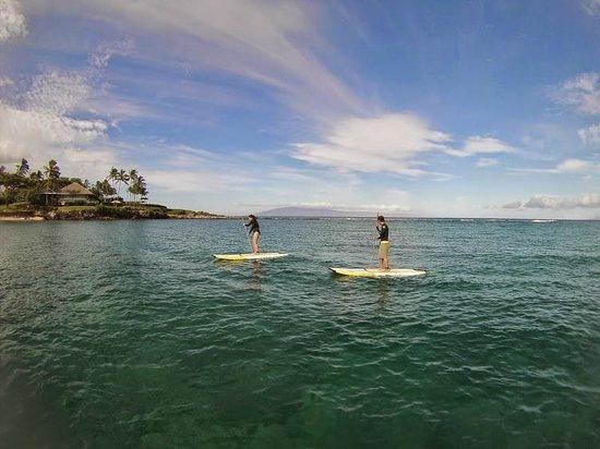 Hawaiian Paddle Sports : Beautiful water
