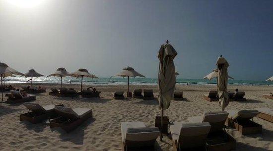 Park Hyatt Abu Dhabi Hotel & Villas : Park Hyatt sunset beach