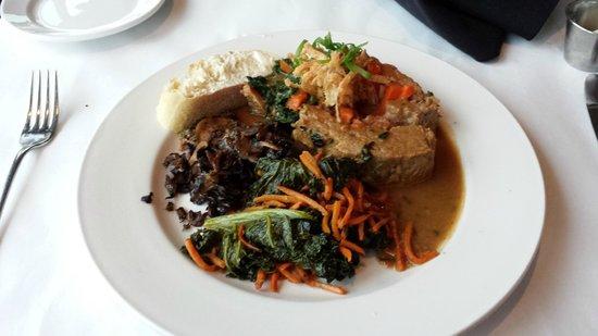 JJ Astor Restaurant & Lounge: Magnificent Stuffed Meatloaf