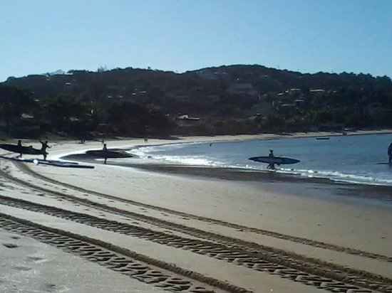 Ferradura Beach: Parte central da praia!