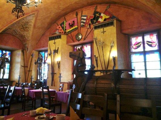 Hotel Kampa-Stara Zbrojnice: Dining Hall